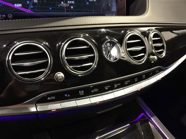 S400d 4マチック AMGライン AMGラインプラス ベーシックPKG レザーエクスクルーシブPKG パノラミックスライディングルーフ 黒革 4MATIC(19枚目)