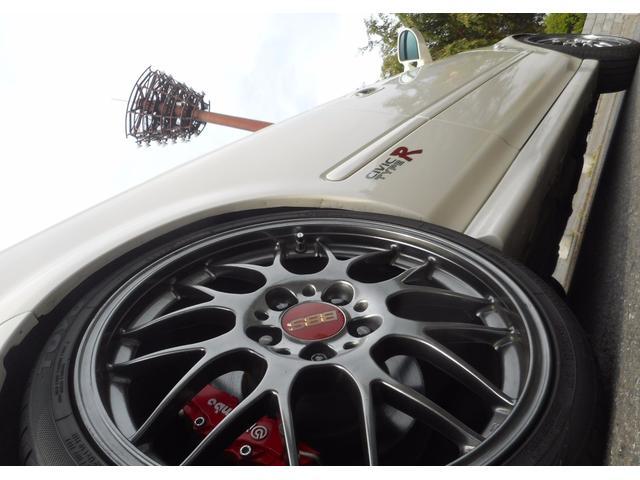 ホンダ シビック タイプR X CUSCO車高調 柿本マフラー BBS18AW