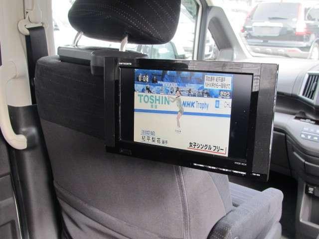 リア席モニター(ショルダータイプ)付きなので後部座席の方もロングドライブが楽しくなります♪                     ホンダカーズ東京中央 北池袋店  03-3959-1155