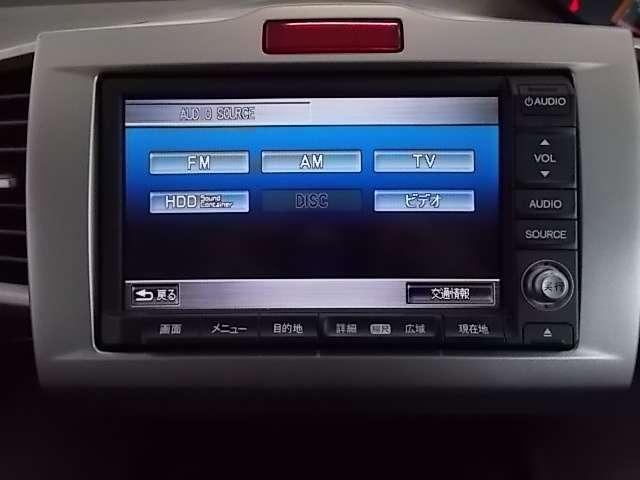 純正HDDナビ、CD DVD CDは録音可能なサウンドコンテナが装備されており、ワンセグTVも入っています