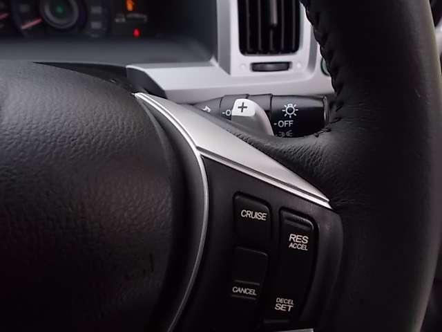 高速道路などでの定速走行を制御するシステム。ロングドライブも疲れ知らずですよ。