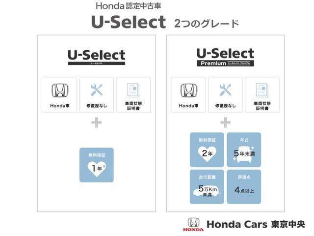U-Selectは2つのグレードが御座います。プレミアムはハイグレードなお車に2年の無料保証が付きます。