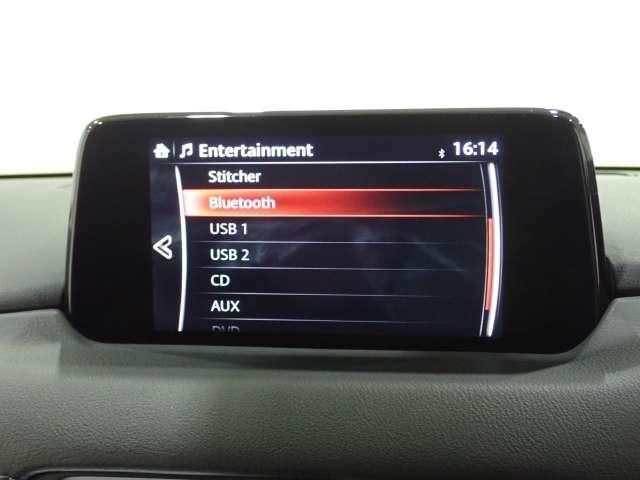 オーディオは最近の車ならではのBluetoothオーディオをはじめ、CD,DVDも勿論ご利用いただけます♪