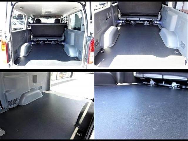 トヨタ ハイエースバン MTS17インチアルミMRT床張り施工ナビ新品スポイラー