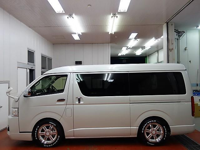 トヨタ ハイエースワゴン トヨタセフティー付トリプルナビパッケージワゴンGL