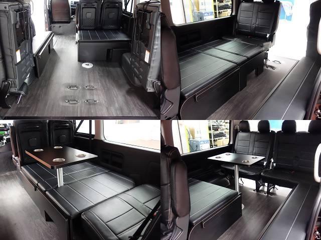 ワゴンGLR1シートアレンジ床張りツインナビ装着済み(16枚目)