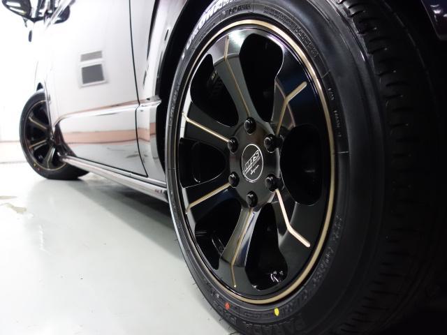 スーパーGL ダークプライム フレックス初売り 2021年特選車MTS18インチアルミローダウンナビETC装備(3枚目)