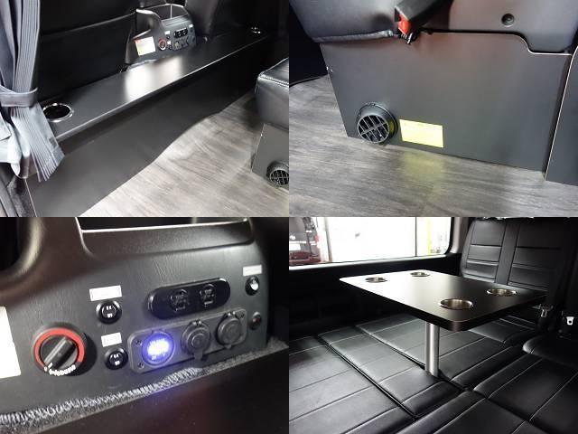 GL アレンジR1シートツインナビFFヒーターサブバッテリー装備(17枚目)