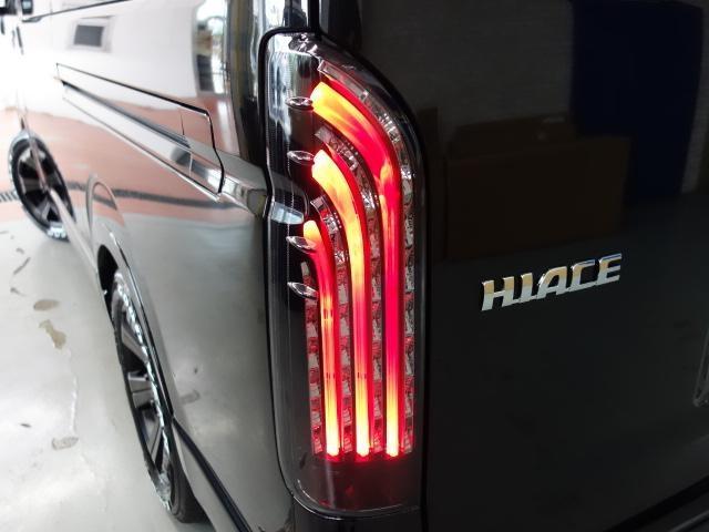 GL ロング FLEXオリジナルアレンジASシートアレンジ施工オリジナル17インチアルミ2インチローダウンオリジナルスポイラーオーバーフェンダーLEDテールライトパイオニアSDナビフリップダウンモニター装着済み(4枚目)