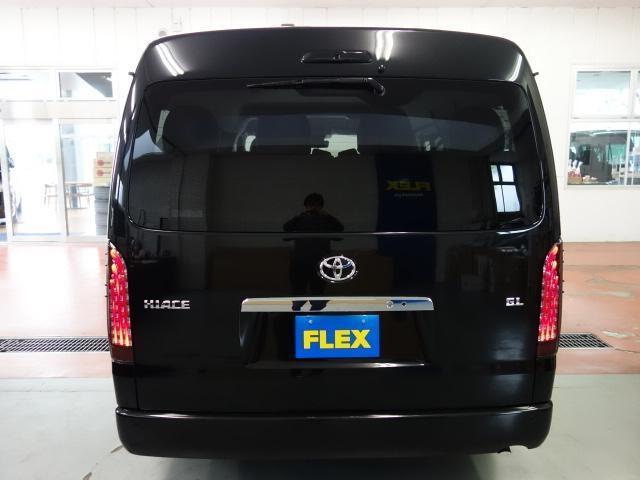 GL ロング FLEXオリジナルアレンジASシートアレンジ施工オリジナル17インチアルミ2インチローダウンオリジナルスポイラーオーバーフェンダーLEDテールライトパイオニアSDナビフリップダウンモニター装着済み(6枚目)