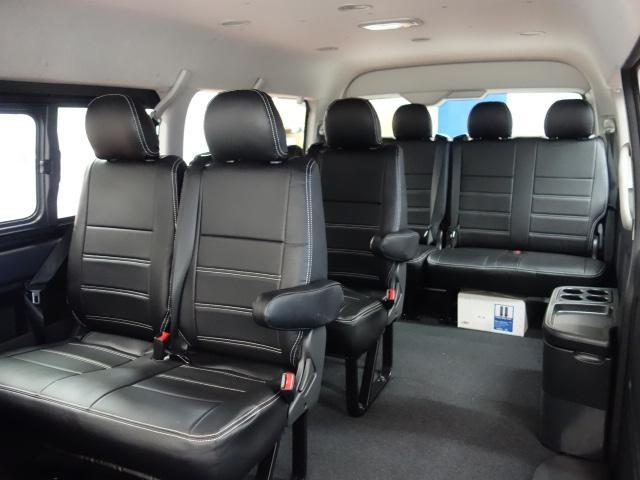 GL ワゴンGL4WDオリジナル17インチアルミ1.15インチローダウンオリジナルシートカバーオリジナルスポイラーオーバーフェンダーパイオニア製SDナビフリップダウンモニター装着済み(2枚目)