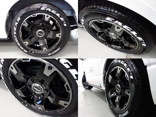 GL ワゴンGL4WDオリジナル17インチアルミ1.15インチローダウンオリジナルシートカバーオリジナルスポイラーオーバーフェンダーパイオニア製SDナビフリップダウンモニター装着済み(14枚目)