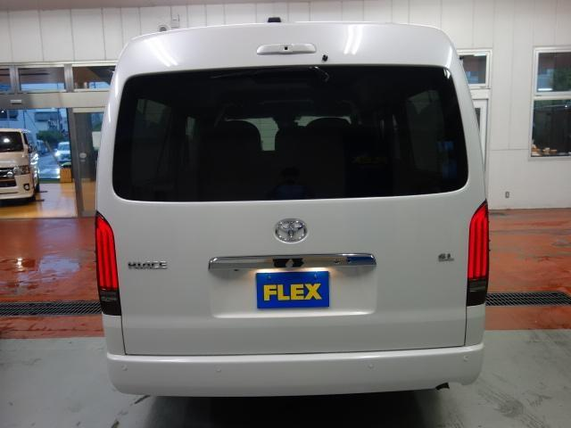 GL ロング FLEXオリジナルVer5シートアレンジフルフラットシートオリジナルフロントスポイラーオーバーフェンダー2インチローダウン済み17インチアルミパイオニア製ナビフリップダウンモニターETC2.0装備(6枚目)
