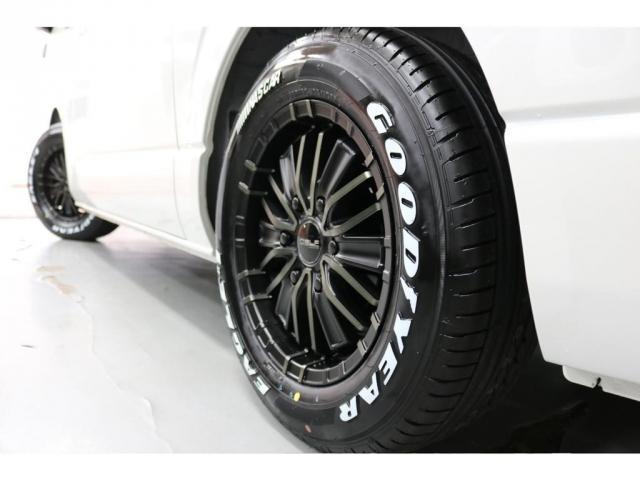 スーパーGL ダークプライムII フレックスオリジナルVer4ベットKITリア全面床張り施工済みオリジナルフロントスポイラー玄武1.5インチローダウンKITオリジナル16インチアルミナスカータイヤ16インチオリジナルLEDテール装備(4枚目)