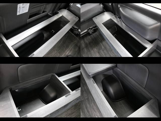 スーパーGL ダークプライムII フレックスオリジナルVer4ベットKITリア全面床張り施工済みオリジナルフロントスポイラー玄武1.5インチローダウンKITオリジナル16インチアルミナスカータイヤ16インチオリジナルLEDテール装備(13枚目)