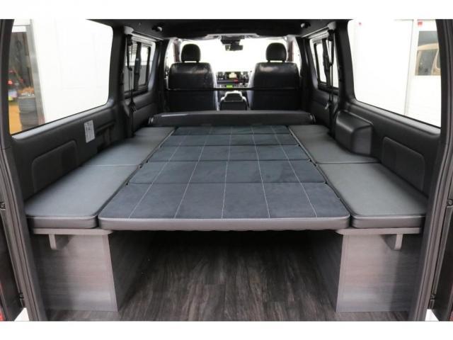 スーパーGL ダークプライムII フレックスオリジナルVer4ベットKITリア全面床張り施工済みオリジナルフロントスポイラー玄武1.5インチローダウンKITオリジナル16インチアルミナスカータイヤ16インチオリジナルLEDテール装備(17枚目)