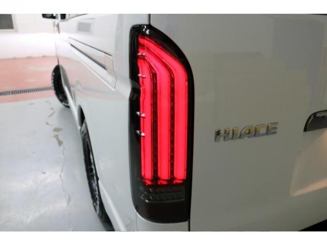 スーパーGL ダークプライムII フレックスオリジナルVer4ベットKITリア全面床張り施工済みオリジナルフロントスポイラー玄武1.5インチローダウンKITオリジナル16インチアルミナスカータイヤ16インチオリジナルLEDテール装備(20枚目)