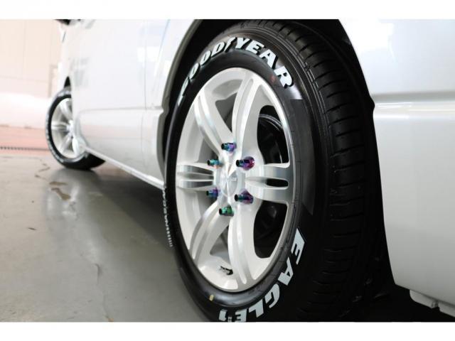 スーパーGL ダークプライムII 415コブラフロントスポイラー415コブラバッドラッカー17インチアルミナスカータイヤ17インチ2インチローダウン済み前後バンプ交換オリジナルLEDテールライト415コブラパーツでカスタム済み(3枚目)