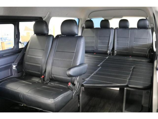 GL ロング フレックスオリジナルVer1シートアレンジ施工オリジナルフロントスポイラーオーバーフェンダー玄武2インチローダウンKITオリジナル17インチアルミナスカータイヤ17インチオリジナルLEDテール装備(2枚目)