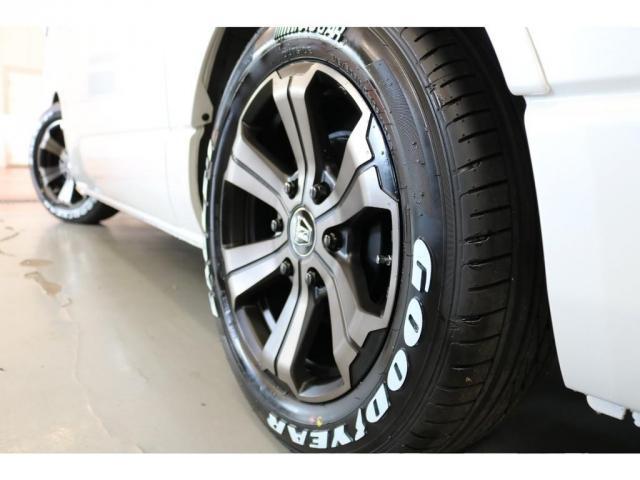 GL ロング フレックスオリジナルVer1シートアレンジ施工オリジナルフロントスポイラーオーバーフェンダー玄武2インチローダウンKITオリジナル17インチアルミナスカータイヤ17インチオリジナルLEDテール装備(4枚目)