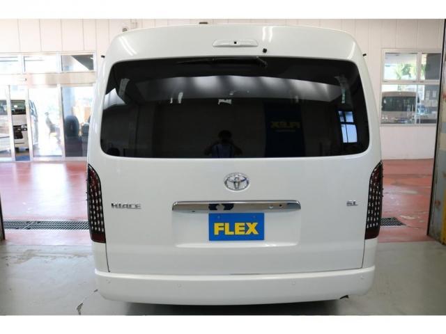GL ロング フレックスオリジナルVer1シートアレンジ施工オリジナルフロントスポイラーオーバーフェンダー玄武2インチローダウンKITオリジナル17インチアルミナスカータイヤ17インチオリジナルLEDテール装備(6枚目)