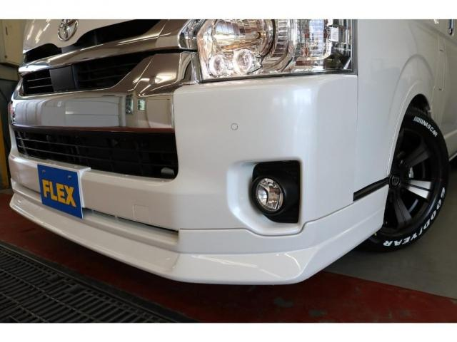 GL ロング フレックスオリジナルVer1シートアレンジ施工オリジナルフロントスポイラーオーバーフェンダー玄武2インチローダウンKITオリジナル17インチアルミナスカータイヤ17インチオリジナルLEDテール装備(10枚目)
