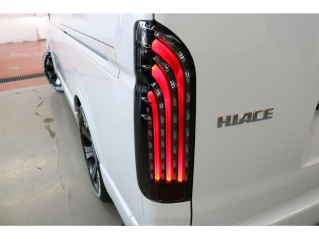 GL ロング フレックスオリジナルVer1シートアレンジ施工オリジナルフロントスポイラーオーバーフェンダー玄武2インチローダウンKITオリジナル17インチアルミナスカータイヤ17インチオリジナルLEDテール装備(14枚目)