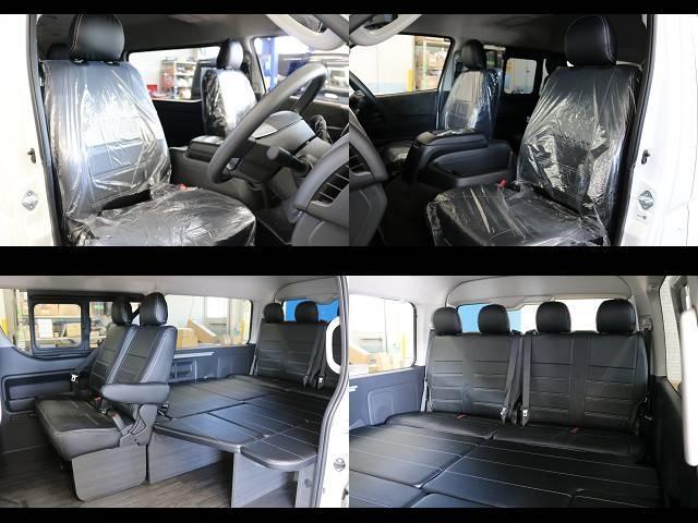 GL ロング フレックスオリジナルVer1シートアレンジ施工オリジナルフロントスポイラーオーバーフェンダー玄武2インチローダウンKITオリジナル17インチアルミナスカータイヤ17インチオリジナルLEDテール装備(18枚目)