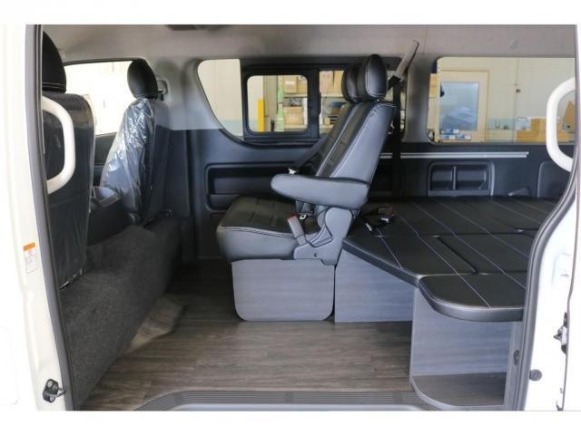 GL ロング フレックスオリジナルVer1シートアレンジ施工オリジナルフロントスポイラーオーバーフェンダー玄武2インチローダウンKITオリジナル17インチアルミナスカータイヤ17インチオリジナルLEDテール装備(20枚目)