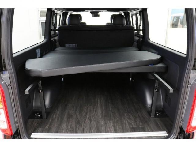 スーパーGL ダークプライムII リア全面床張り施工済みオリジナルベットKITタイプII高さ調整機能付きオリジナルフロントスポイラーオリジナル17インチアルミナスカータイヤ17インチ玄武2インチローダウンKITバンプラバー交換済み(16枚目)
