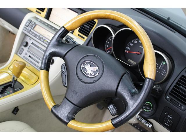 トヨタ ソアラ 430SCV 本革 18AW HID シートヒーター