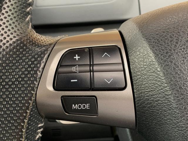 【ステアリングスイッチ】運転中もハンドルから手を離さずにオーディオを操作できます!