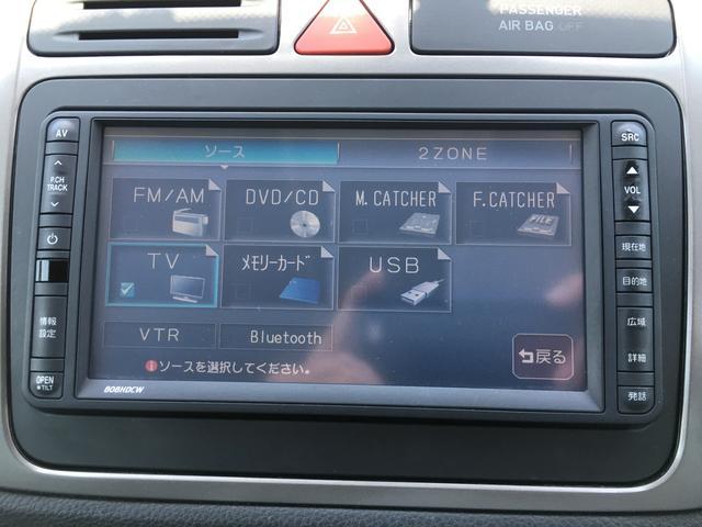 トラック&フィールド 4WD HDDナビ フルセグTV バックカメラ ETC MTモード付AT オートライト HIDライト フォグライト 純正アルミホイール キーレス スペアキー(4枚目)