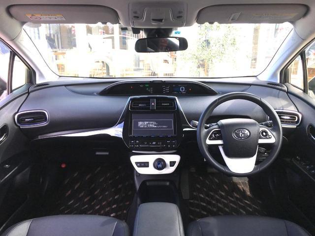 トヨタ プリウス S ツーリングセレクション 純正メモリーナビ 衝突軽減