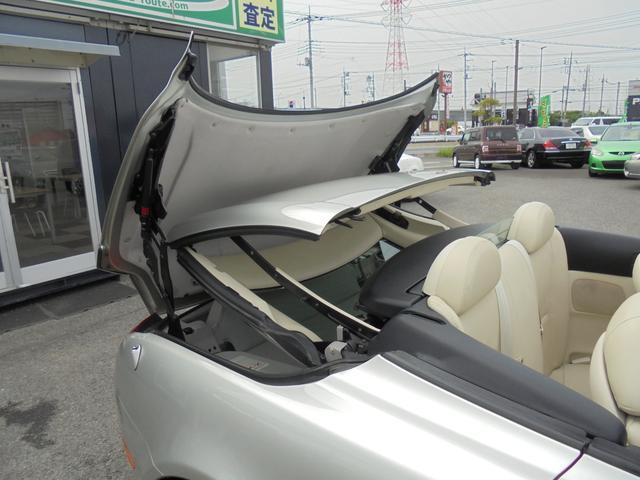 430SCV 電動オープン エクリュー革 車高調 社外アルミ(6枚目)