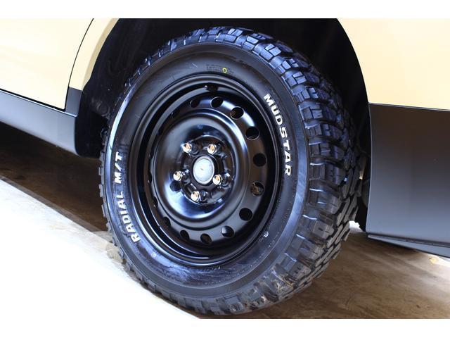 タイヤはMUDSTAR RADIAL M/Tを新品でお取付けしております。