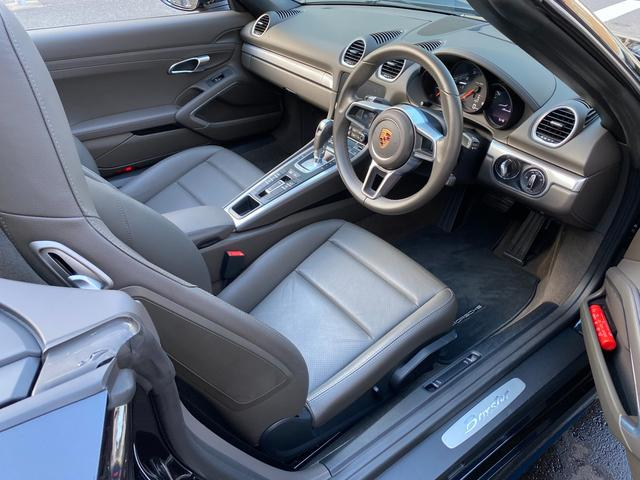 718ボクスター ディーラー整備 PDK PASM フルレザースポーツシート エントリードライブ スポーツテールパイプ ボクスターS19インチAW キセノンヘッドライト ルームミラー一体型バックモニター ドラレコ(31枚目)