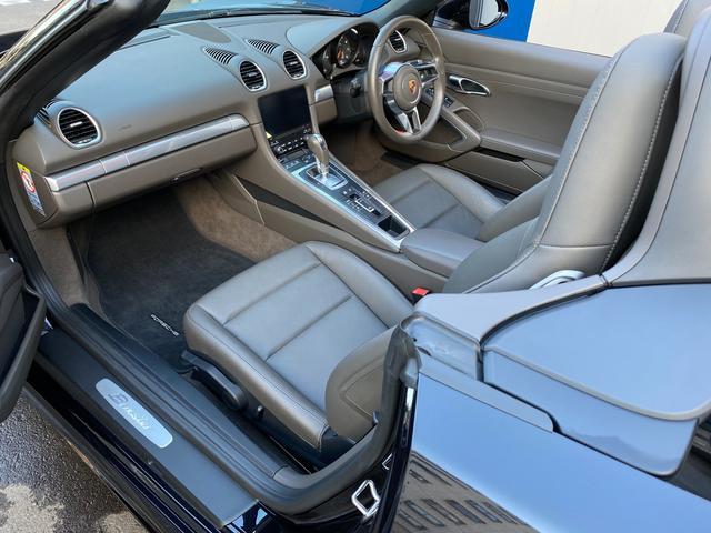 718ボクスター ディーラー整備 PDK PASM フルレザースポーツシート エントリードライブ スポーツテールパイプ ボクスターS19インチAW キセノンヘッドライト ルームミラー一体型バックモニター ドラレコ(34枚目)