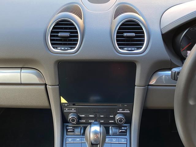 718ボクスター ディーラー整備 PDK PASM フルレザースポーツシート エントリードライブ スポーツテールパイプ ボクスターS19インチAW キセノンヘッドライト ルームミラー一体型バックモニター ドラレコ(60枚目)