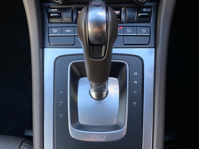 718ボクスター ディーラー整備 PDK PASM フルレザースポーツシート エントリードライブ スポーツテールパイプ ボクスターS19インチAW キセノンヘッドライト ルームミラー一体型バックモニター ドラレコ(64枚目)