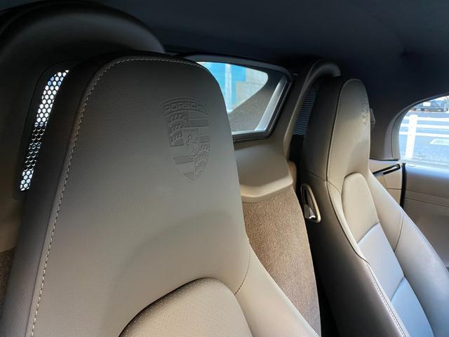718ボクスター ディーラー整備 PDK PASM フルレザースポーツシート エントリードライブ スポーツテールパイプ ボクスターS19インチAW キセノンヘッドライト ルームミラー一体型バックモニター ドラレコ(71枚目)