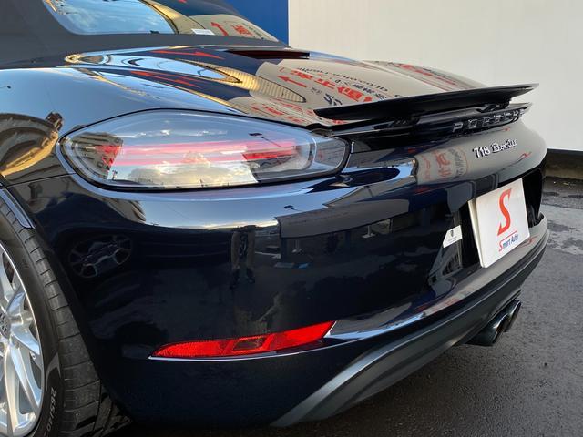 718ボクスター ディーラー整備 PDK PASM フルレザースポーツシート エントリードライブ スポーツテールパイプ ボクスターS19インチAW キセノンヘッドライト ルームミラー一体型バックモニター ドラレコ(72枚目)