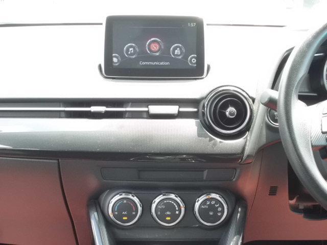 13S 禁煙車 マツダコネクトナビ 衝突軽減ブレーキ アドバンスキー アイドリングストップ Bluetooth AUX SPORTモード ステアリングスイッチ LEDヘッドライト USB接続(4枚目)