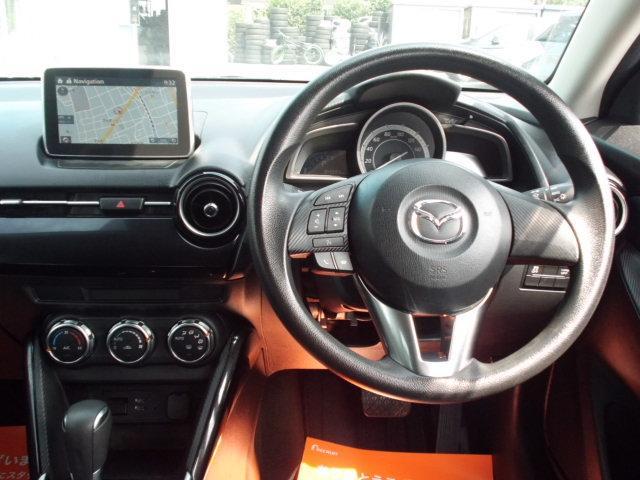 13S 禁煙車 マツダコネクトナビ 衝突軽減ブレーキ アドバンスキー アイドリングストップ Bluetooth AUX SPORTモード ステアリングスイッチ LEDヘッドライト USB接続(32枚目)