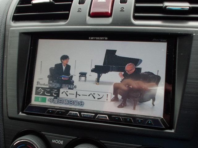 2.0i 社外HDDナビ バックカメラ フルセグ アイドリングストップ 社外ドライブレコーダー ガナドールマフラー 社外アルミ リアスポイラー クルーズコントロール ETC パドルシフト キセノンライト(6枚目)