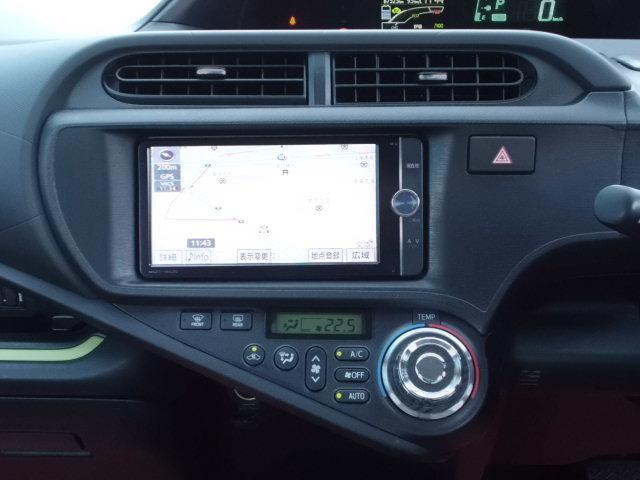 S 純ナビ フルセグ バックカメラ スマートキー 純正フルエアロ Bluetooth DVDビデオ再生 USB接続 オートエアコン プッシュエンジンスタート スペアキー ETC 純アルミ(4枚目)