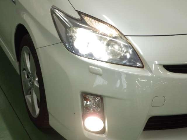 【LEDヘッドライト】より省電力で、スイッチを入れてから点灯するまでの反応も早いLEDヘッドライト!