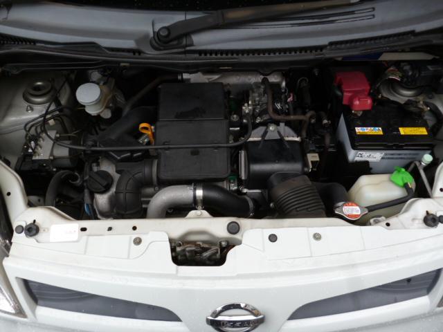 日産 モコ G インタークーラーターボ PS PW ABS 純正アルミ