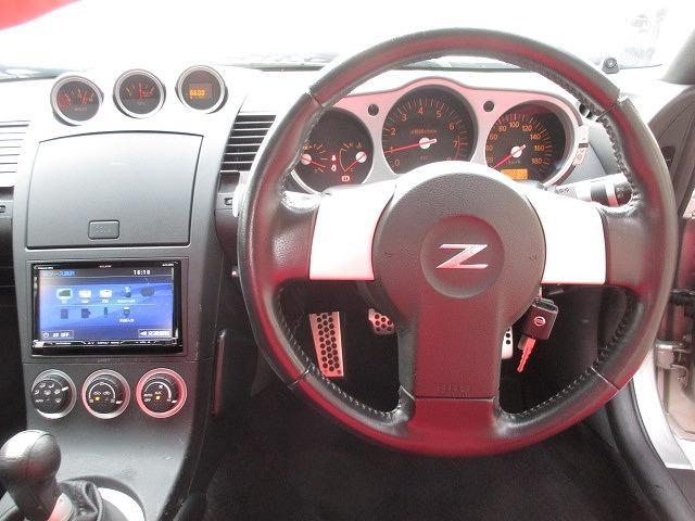 日産 フェアレディZ ベースグレード 6MT 社外19インチアルミ HKS車高調