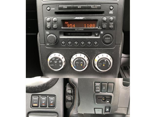 日産 フェアレディZ ロードスターバージョンT 黒レザーシート BOSEサウンド
